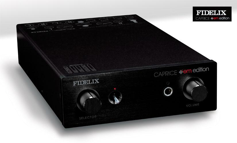 Fidelixの「CAPRICE」をベースに、限定色を用いたデザインに変更した「CAPRICE em edition」