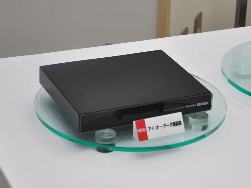 アイ・オーは薄型HDDをDIGAの発売に合わせて発表予定