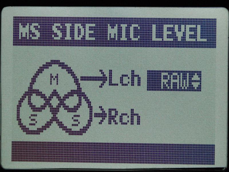 MSマイクの出力をそのまま録音するMS-RAW