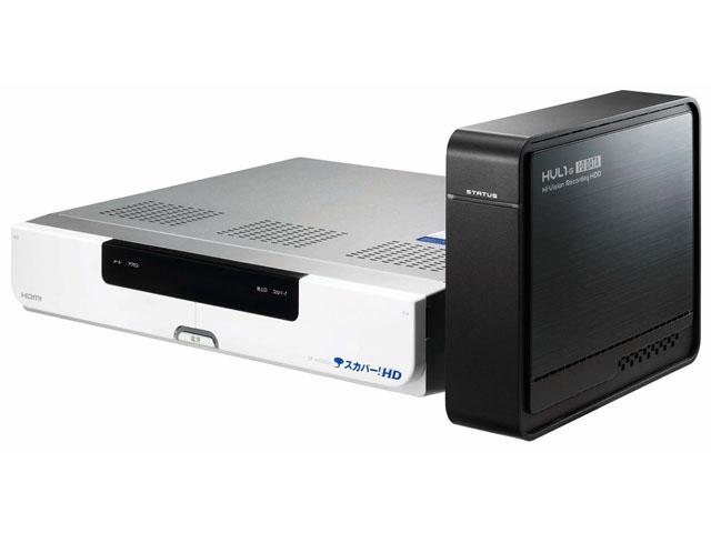 スカパー! HDチューナとLAN HDDの組み合わせで「スカパー! HD録画」