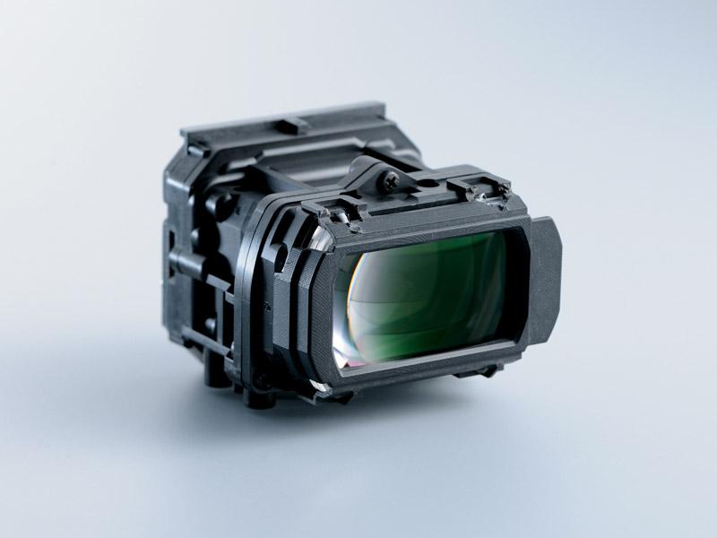 新開発の光学レンズ