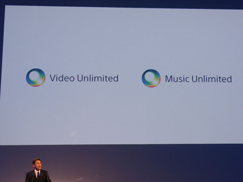 「Video Unlimited」と「Music Unlimited」を展開する