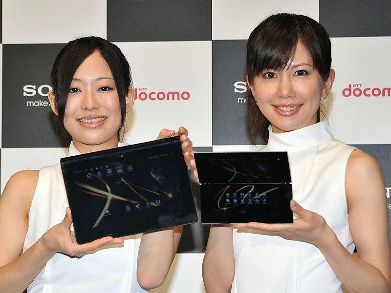 Sony Tablet SシリーズとPシリーズ