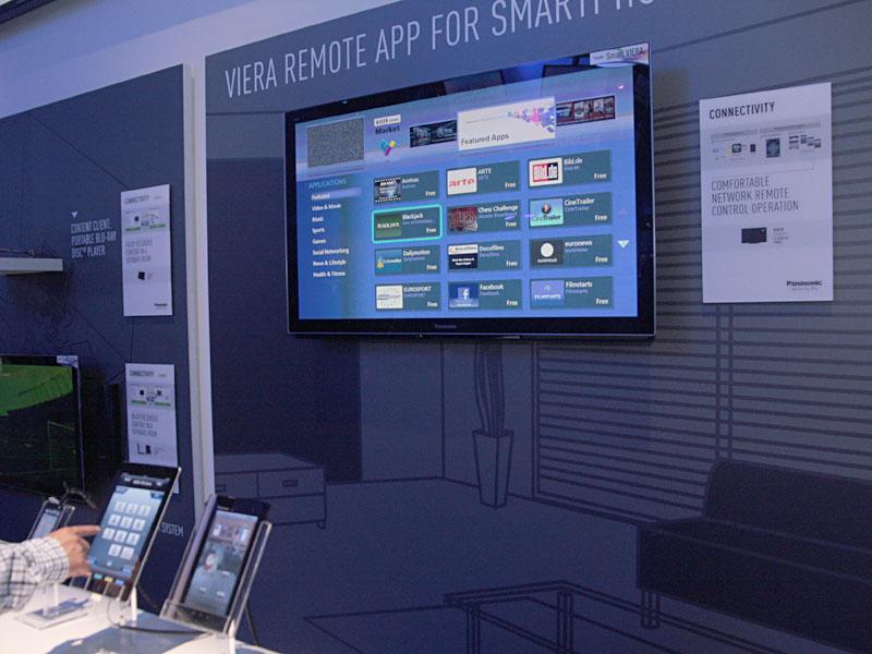 iPadからVIERAを操作するアプリ「VIERA REMOTE APP」の紹介コーナー
