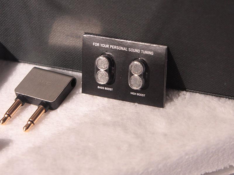 フィルタ交換で音質のカスタマイズが可能