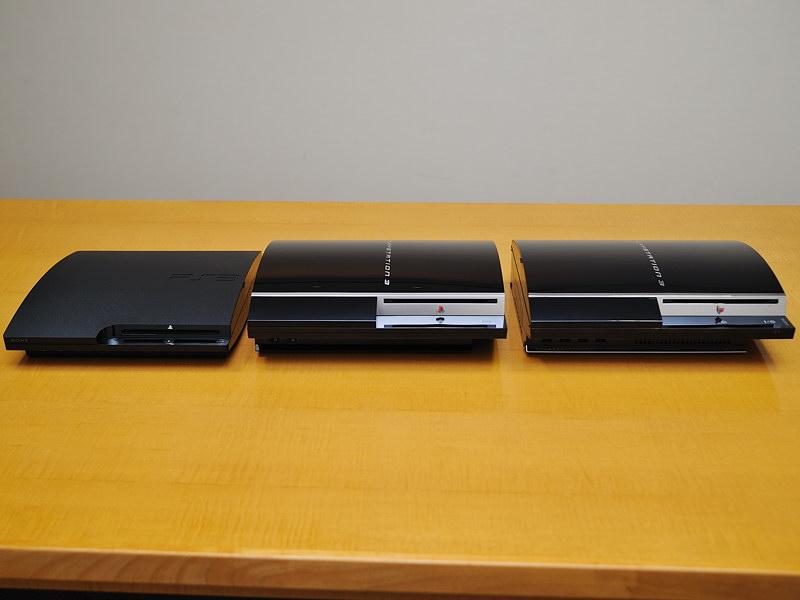 PlayStation3は、初代モデルから現行モデルまでDSDディスクに対応している