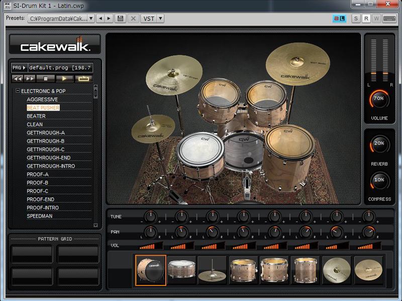 Studio Instruments Drum Kit