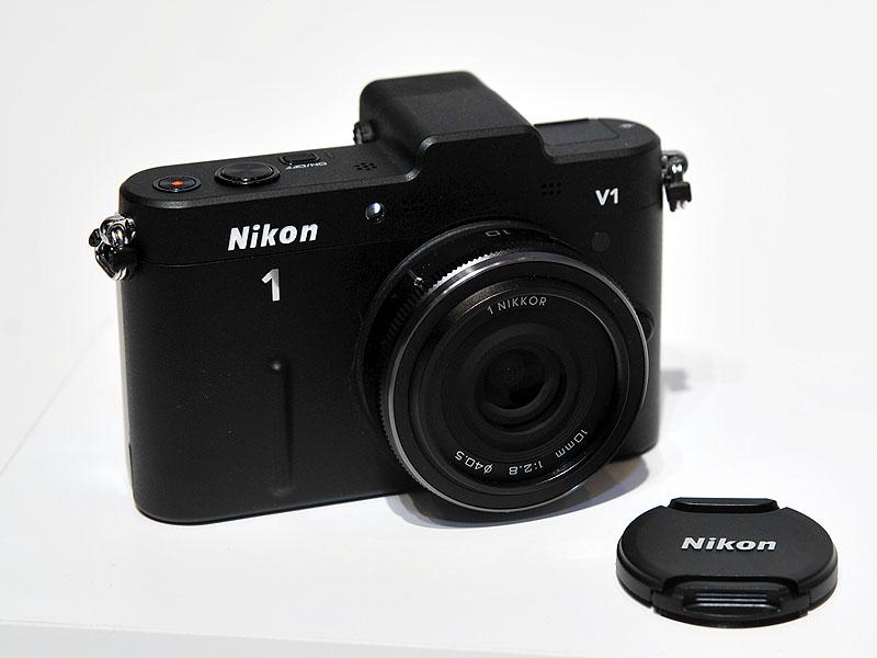 Nikon 1 V1のブラックモデル