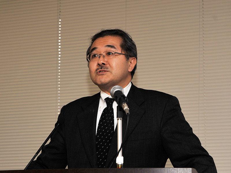デジタルホーム事業部の石井希典事業部長