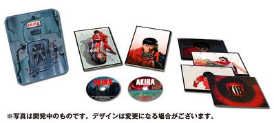 "AKIRA Blu-ray 30th Anniversary Edition         <br><font size=""1"">(c)1988 マッシュルーム/アキラ製作委員会</font>"