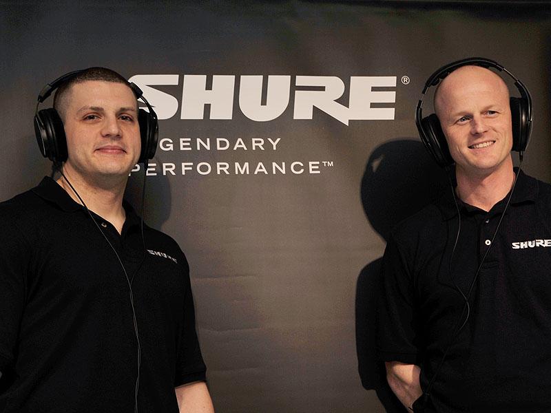 左がアソシエイト・プロダクト・マネージャー マイケル・ジョーンズ氏、右がモニタリング・カテゴリー・ディレクターのマット・エングストローム氏