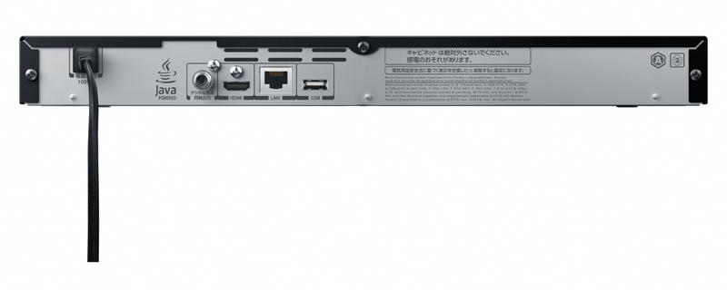 DBP-T200の背面