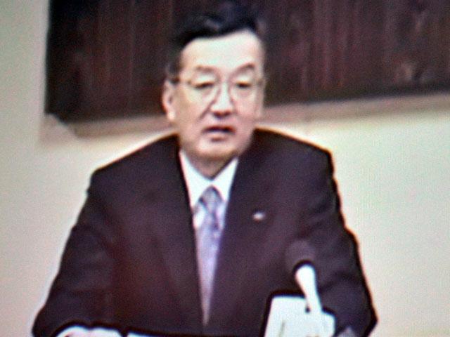 シャープ エレクトロニクス コーポレーションの高橋興三 会長兼社長