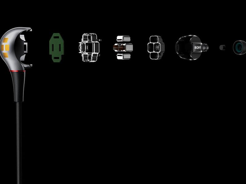 XBA-4SLの構成パーツ