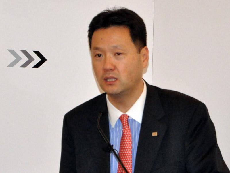 東芝スマートコミュニティ事業統括部長の丸山氏