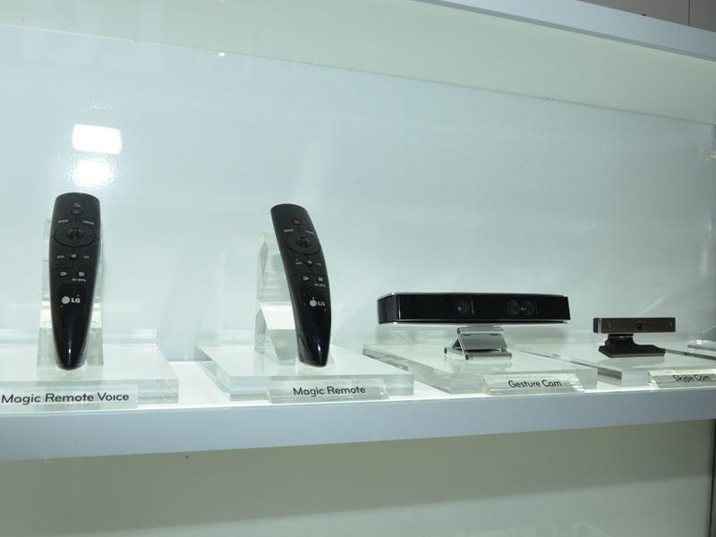 「Magic Remote」はスマートTV向けコントローラとして製品化された。GestureCamも来年には?