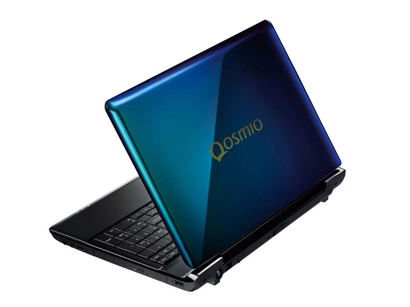 春モデルのAVノートPC「dynabook Qosmio T751/T8E」(シャイニーオーシャン)
