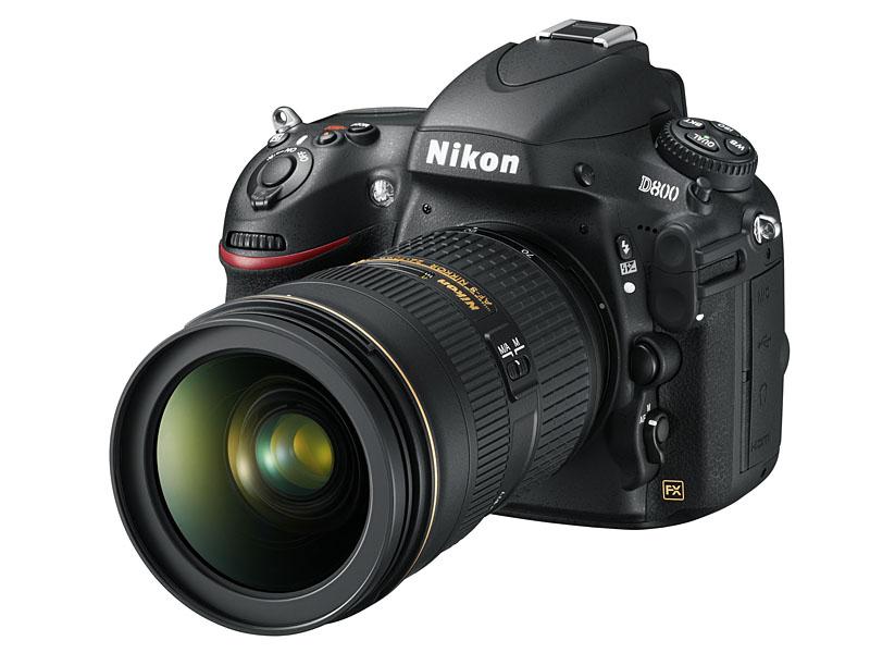 デジタル一眼レフカメラ「D800」