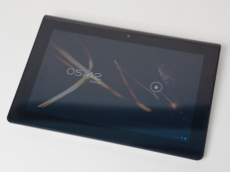 Android 4.0.3にアップデートされたSony Tablet S