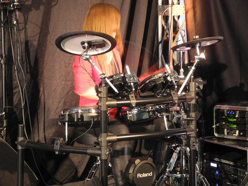 V-Drumsの新モデル
