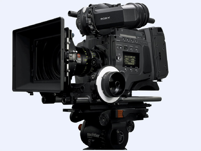 CineAltaカメラ「F65」