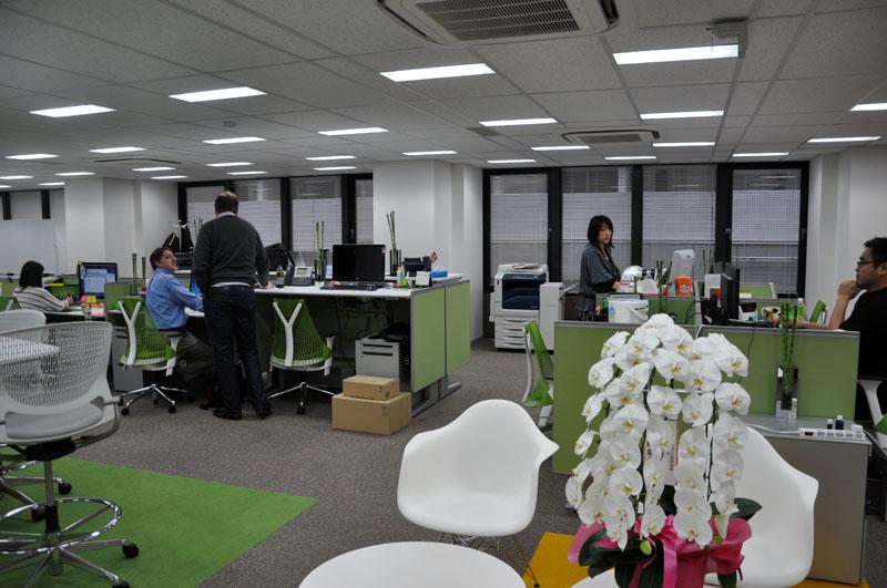 3月に新オフィスに入居