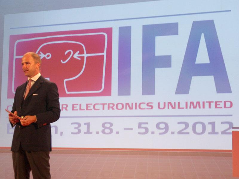 IFAを運営するMesse BerlinのChristian Goke COO