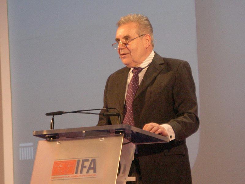 ドイツ民生通信エレクトロニクス協会(gfu)の監査役会議長、Rainer Hecker氏