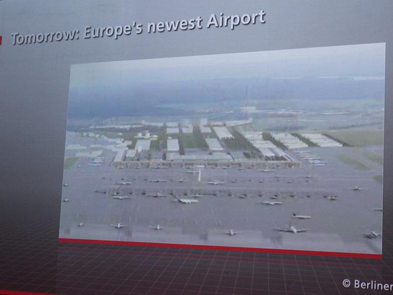 新しくブランデンブルク空港が開業予定