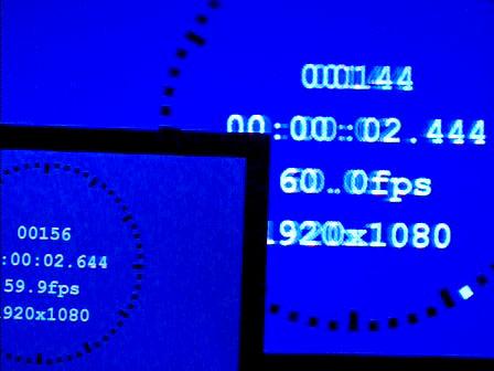 2D→3D変換、画調モード「ゲーム」、9視差モード