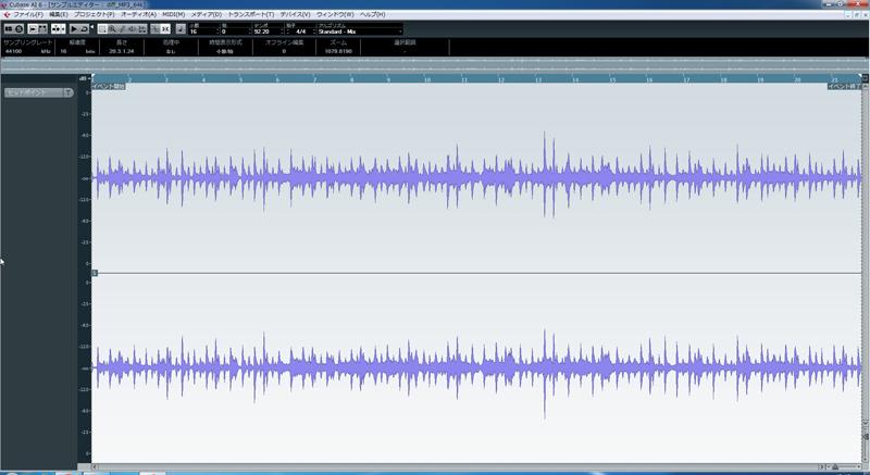 MP3 64kbpsとの差分