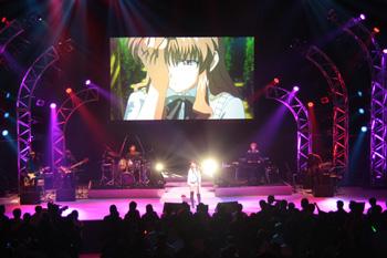 <FONT size=2>川田まみさんのステージ</FONT>