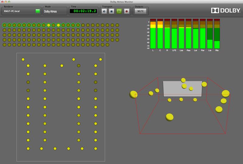 Dolby Atmos用のモニタリングツール