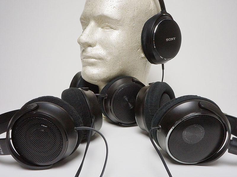 ソニーのオープンエア型ヘッドフォン「MDR-MA」シリーズ
