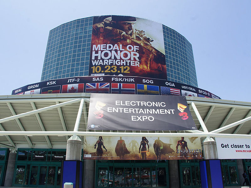 E3会場となるLos Angeles Convention Center