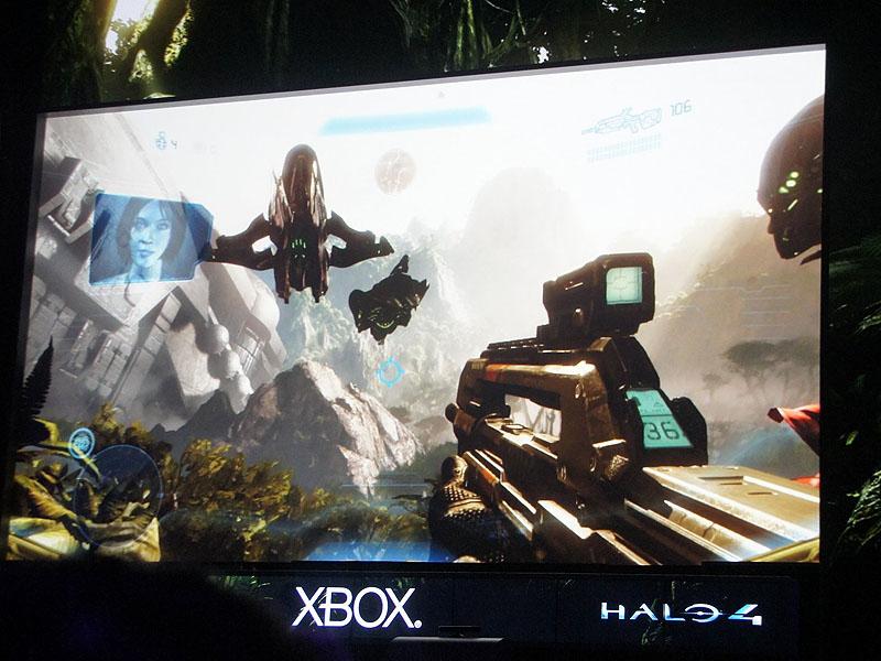 人気FPSの最新作「Halo4」。日本でも11月8日に発売