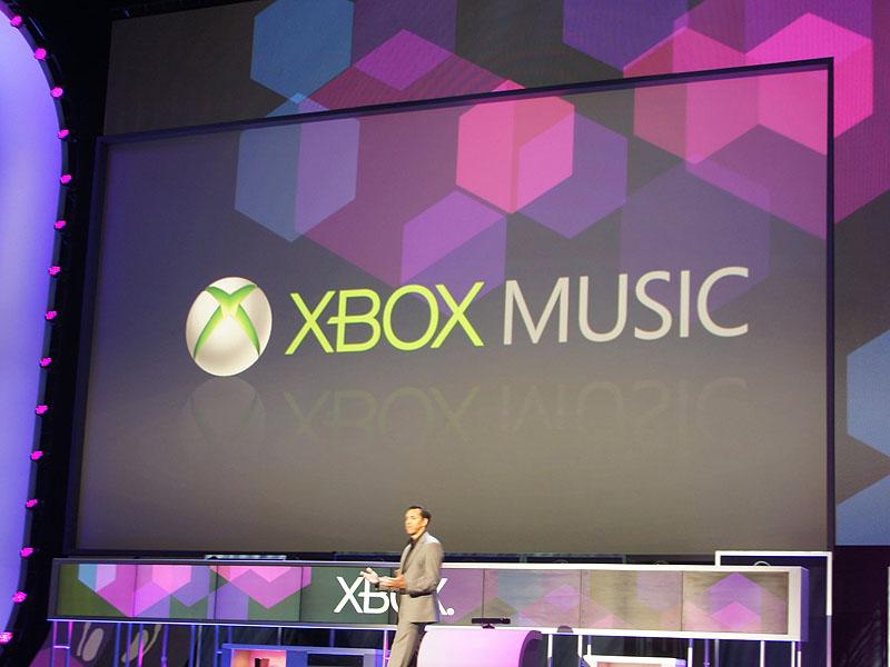 Xboxブランドによる音楽サービス「Xbox Music」を発表。Xbox 360からスタートするが、Windows 8など、マイクロソフト製品全体で利用するサービスになる