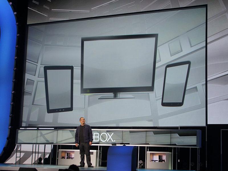 Xbox Live担当コーポレート・バイスプレジデントのマーク・ウィッテン氏は「現在のスマートデバイスは連携しておらず、スマートではない」と切り捨てた