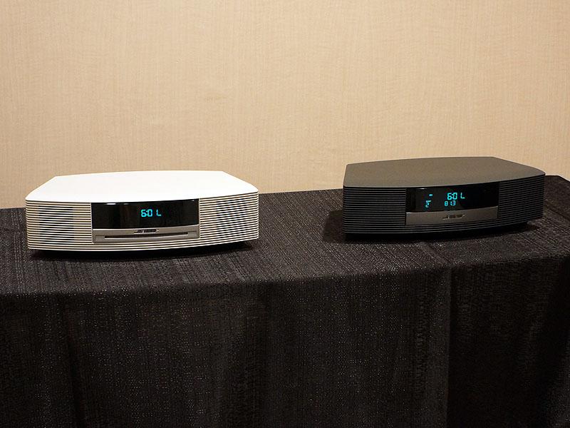 左が「Wave music system III」、右が「Wave radio III」