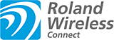 Roland Wirelss Connectのロゴマーク