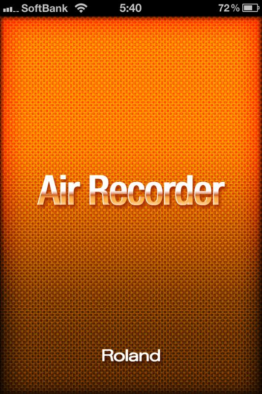 Air Recorder