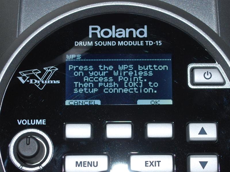 WPSを使って簡単に無線接続できる