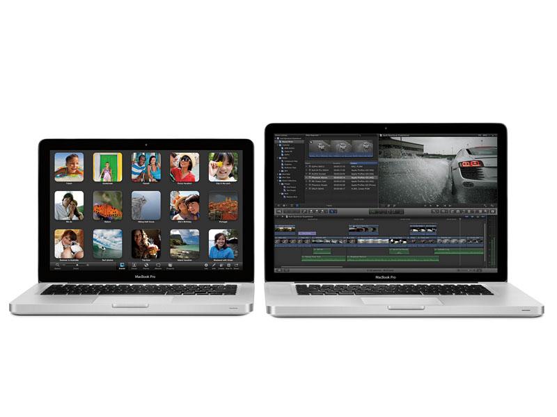 13型と15型のMacBook Proの新モデル