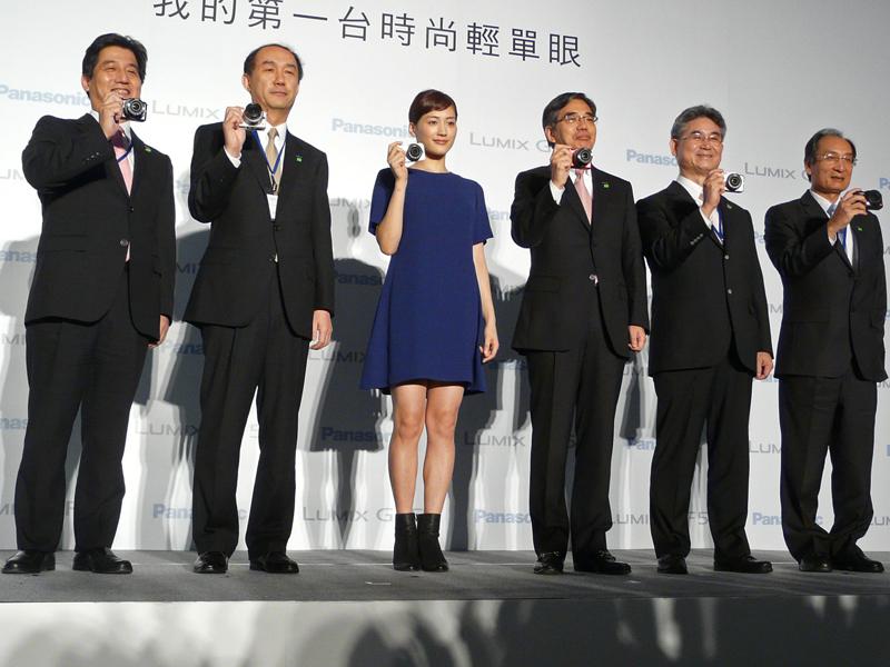 台湾での会見に出席した綾瀬はるかさん