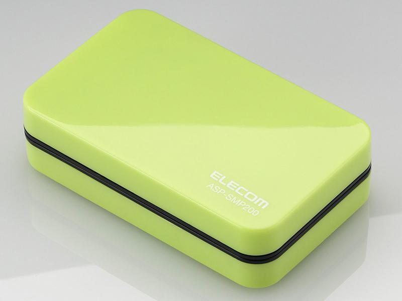 ASP-SMP200シリーズのグリーン、ピンク、ホワイト