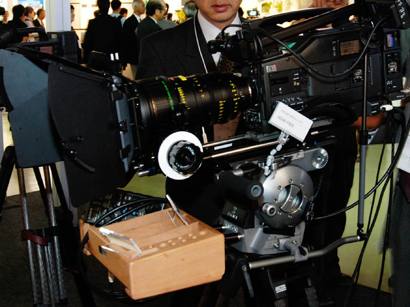 HDCAMフォーマットの「HDW-F900」