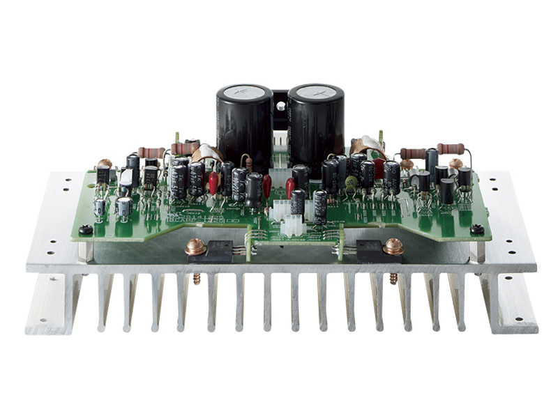 CR-N755のコンデンサなど