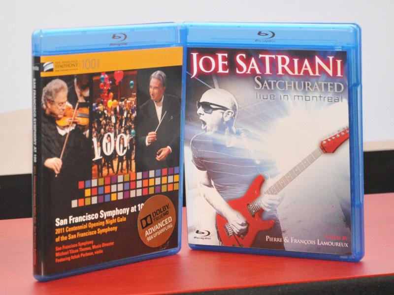 Joe Satriani「Saturated」、サンフランシスコ交響楽団「San Francisco Symphony at 100」