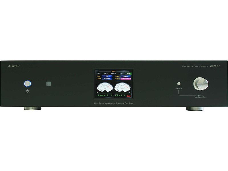 DSP内蔵の4ウェイ対応チャンネルデバイダ「RCD-84」