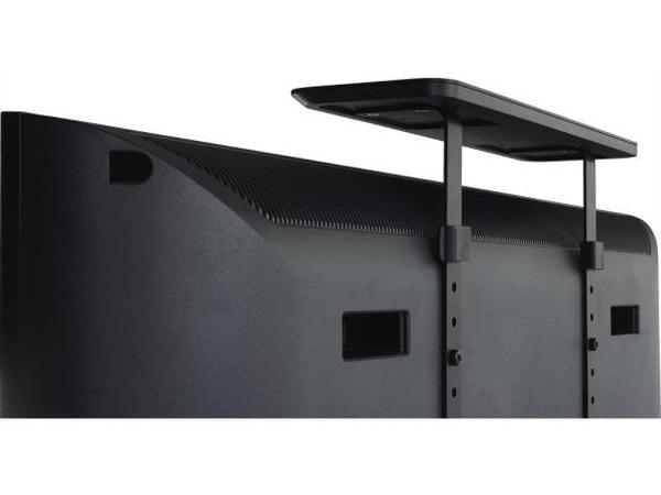 テレビ裏の壁掛け用ネジ穴を使用